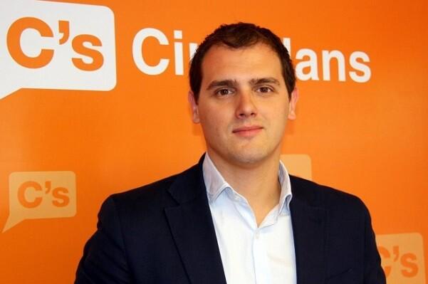 Albert Rivera, presidente de la formación Ciudadanos.