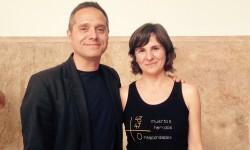 Amadeu Sanchis amb Beatriz Garrote