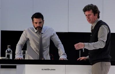 Antonio Hortelano y Gabino Diego.