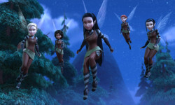 """TINKER BELL AND THE LEGEND OF THE NEVERBEAST"" Pictured: Scout Fairies. ©2014 Disney Enterprises, Inc. All Rights Reserved."