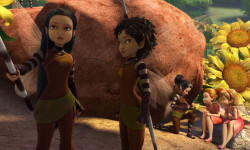 """TINKER BELL AND THE LEGEND OF THE NEVERBEAST"" Pictured (L-R): Nyx and Fury. ©2014 Disney Enterprises, Inc. All Rights Reserved."