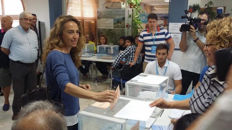 Carolina Punset vota