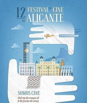 Cartel del festival de cine de Alicante.