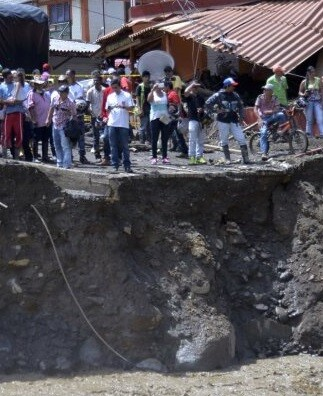 Cientos de familias han sido damnificadas por las riadas.