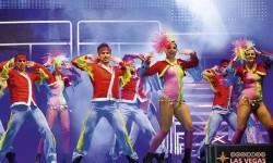 'Dancing Las Vegas' es un espectáculo lleno de bailes, música y color.