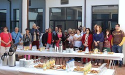 Desayuno de hermanamiento en el Ayuntamiento de Utiel