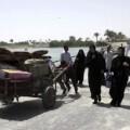 Desplazados de Al Ramadi.