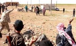 El Estado Islámico ejecutó a dos hombres en Irak arrojándoles bloques de hormigón (1)