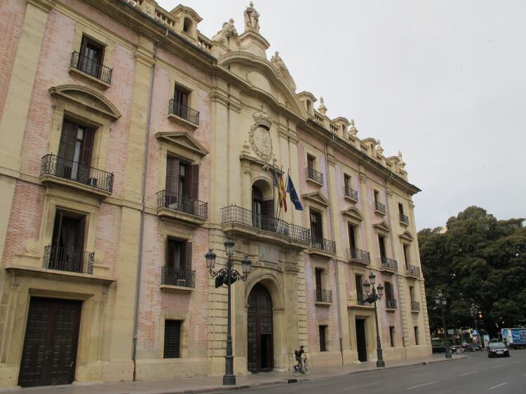 Sede del Tribunal Superior de Justicia de la Comunidad Valenciana