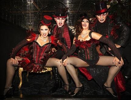 El espectáculo de cabaret ' class=