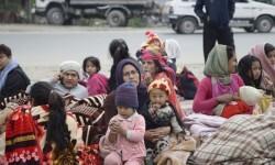 El nuevo seísmo ha dejado a cientos de personas viviendo en la calle. (Foto-efe)