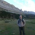 Miguel Ángel Rodríguez Pascua en el Valle de Ordesa (Pirineos)