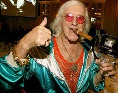 El popular presentador televisivo Jimmy Savile ya fallecido.