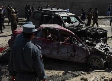 El vehículo estaba cargado de explosivos.