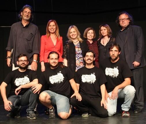 Entraigües, Jávega, Haas, Josefa Lafuente, Luna, Garzón y debajo grupo 'Improu'.