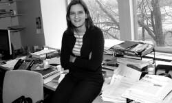 Esther Duflo en una imagen tomada en el MIT.