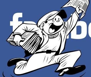 Facebook ha comenzado su proceso de incluir noticias en su red social.