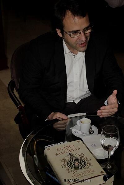 Ferrándiz se sumerge en la Valencia del Siglo de Oro en su nueva novela.