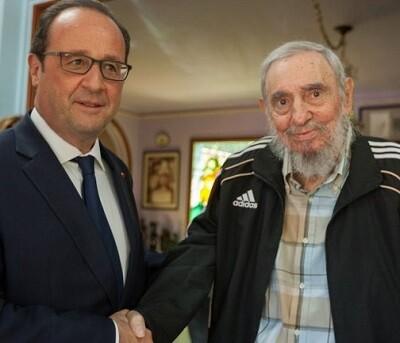 François Hollande es el primer jefe de Estado de Francia que visita Cuba.