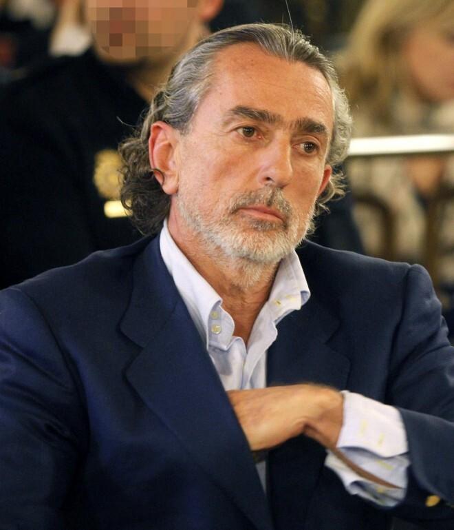 Francisco Correa durante una comparecencia ante el juez.