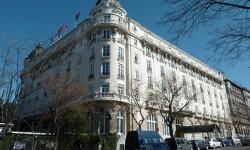 RITZ HOTEL in Madrid (Spain). Built in 1910.