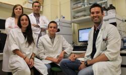 Grupo de investigación de la Universidad de Granada. Foto: UGR.