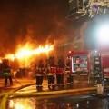 Incendio de una residencia en China.