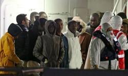 Inmigrantes que han podido ser rescatados.