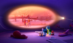 """Fear (voice of Bill Hader), Sadness (voice of Phyllis Smith), Joy (voice of Amy Poehler), Disgust (voice of Mindy Kaling) and Anger (voice of Lewis Black) guide 11-year-old Riley from Headquarters, the control center inside her mind. Directed by Pete Docter (""""Monsters, Inc.,"""" """"Up""""), Disney•Pixar's """"Inside Out"""" opens in theaters nationwide June 19, 2015. ©2014 Disney•Pixar. All Rights Reserved."""