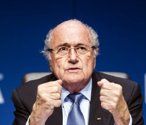 Joseph Blatter se presenta a su cuarta reelección.