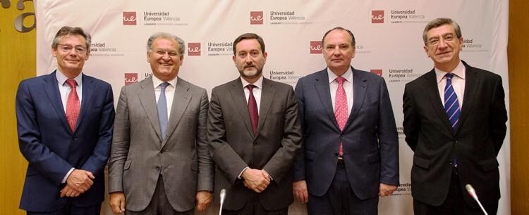 Juan Luis Durich_José Manuel Machado_ Enrique Fernández_ José Vicente Morata_ Antonio San José