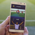 Valencia CF Vodafone App (Photo by David Aliaga)