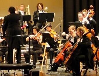 La Orquestra de la Generalitat Valenciana en uno de sus conciertos.