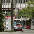 La Plaza del Ayuntamiento marcaba 47 grados a las 17'05 horas.