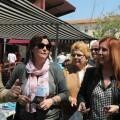 La actual alcaldesa de Aldaia Carmen Jávegaen un acto de campaña.