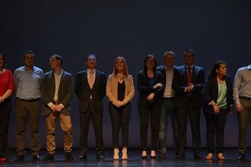 La actual alcaldesa presentó un equipo renovado para la formación.