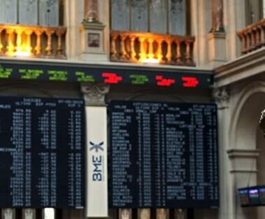 La Bolsa española ha sentido el impacto de la llegada de las nuevas formaciones políticas.