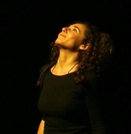 La narradora Cristina Temprano.