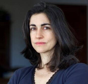 La realizadora Avelina Prat, responsable junto a Diego Opazo del corto '3-105'.