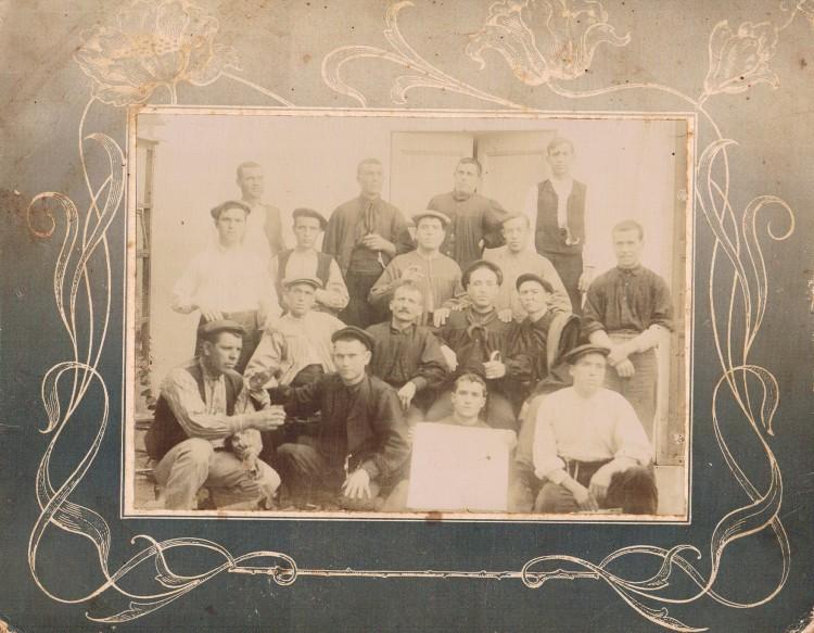 Labradores de Benimàmet. Ca. 1910. A. P. R. S.
