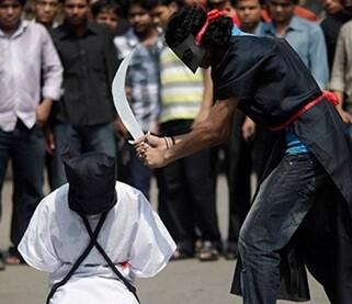 Las funciones del verdugo serían decapitar con un sable a condenados a muerte y realizar amputaciones a ladrones convictos.
