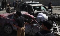 Los talibanes reclaman la autoría del atentado.