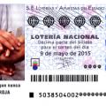 Lotería Nacional, sorteo especial cruz roja córdoba 9 de mayo de 2015