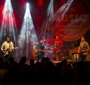 Música gratuita en el Dipcas Music Festival.