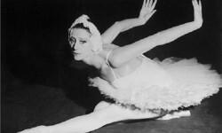 Maya Plisetskaya en una foto de 1964.