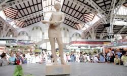 Monumento arroz Se presenta en Valencia el único monumento del mundo elaborado con arroz  (1)