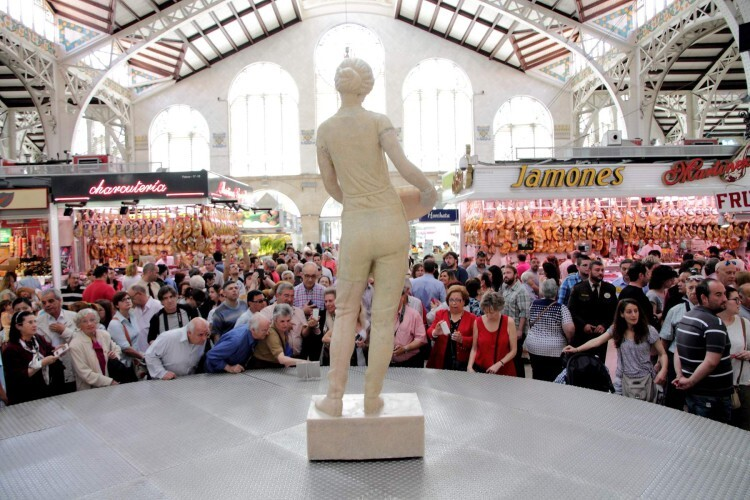 Monumento arroz Se presenta en Valencia el único monumento del mundo elaborado con arroz  (2)
