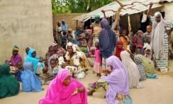 Mujeres liberdas de las manos de Boko Haram. (Foto-AP)