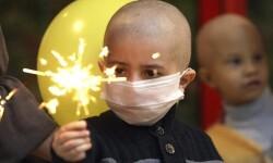 Niños enfermos de cáncer. FOTO: AGENCIA ID.
