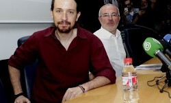 Pabño Iglesias y Antonio Montiel.